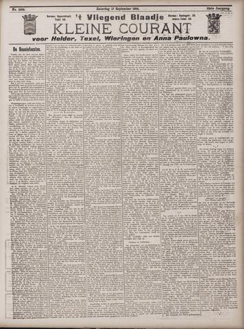 Vliegend blaadje : nieuws- en advertentiebode voor Den Helder 1904-09-17