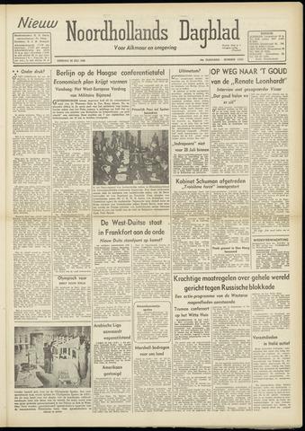 Nieuw Noordhollandsch Dagblad : voor Alkmaar en omgeving 1948-07-20