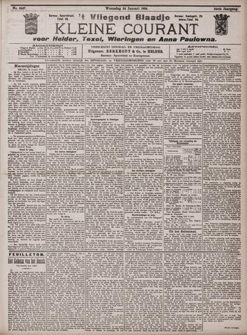 Vliegend blaadje : nieuws- en advertentiebode voor Den Helder 1906-01-24