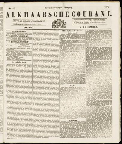 Alkmaarsche Courant 1875-12-05