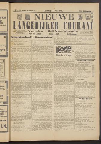 Nieuwe Langedijker Courant 1929-06-11