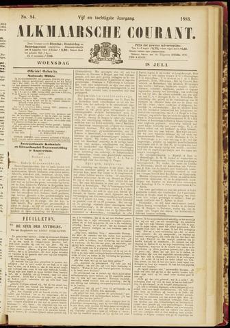 Alkmaarsche Courant 1883-07-18