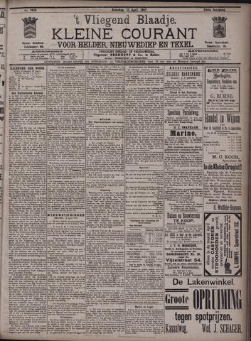 Vliegend blaadje : nieuws- en advertentiebode voor Den Helder 1897-04-17