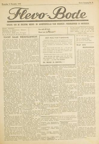 Flevo-bode: nieuwsblad voor Wieringen-Wieringermeer 1945-12-12