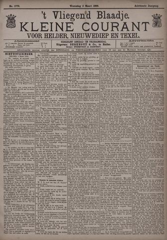 Vliegend blaadje : nieuws- en advertentiebode voor Den Helder 1890-03-05