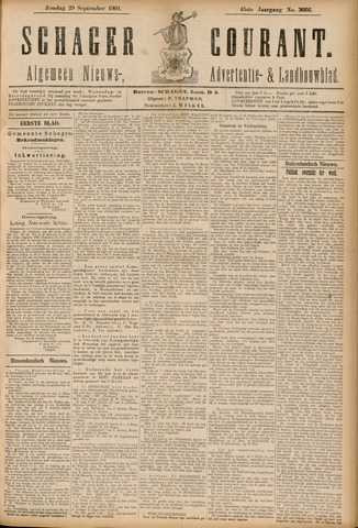 Schager Courant 1901-09-29
