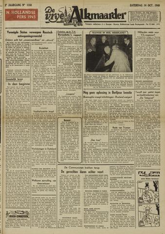 De Vrije Alkmaarder 1948-10-16