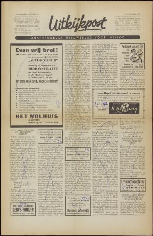 Uitkijkpost : nieuwsblad voor Heiloo e.o. 1958-09-12