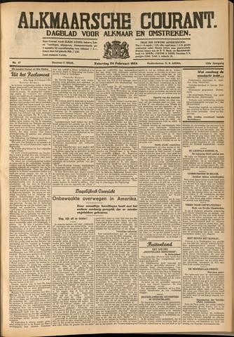 Alkmaarsche Courant 1934-02-24