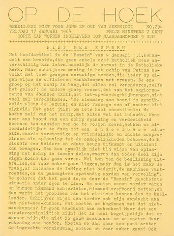 Op De Hoek, weekblad voor Akersloot 1964-01-17