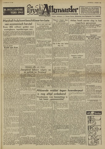 De Vrije Alkmaarder 1950-03-11