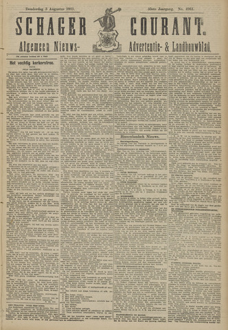 Schager Courant 1911-08-03