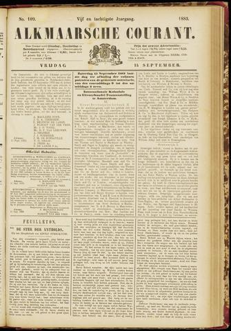 Alkmaarsche Courant 1883-09-14