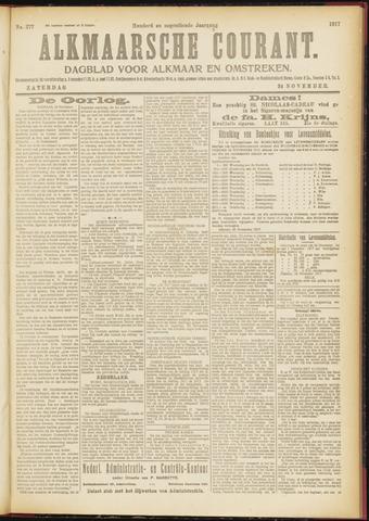 Alkmaarsche Courant 1917-11-24