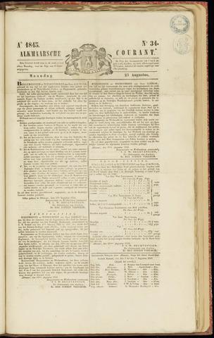 Alkmaarsche Courant 1845-08-25