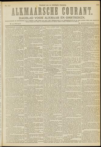 Alkmaarsche Courant 1919-09-15