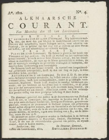 Alkmaarsche Courant 1811-01-28