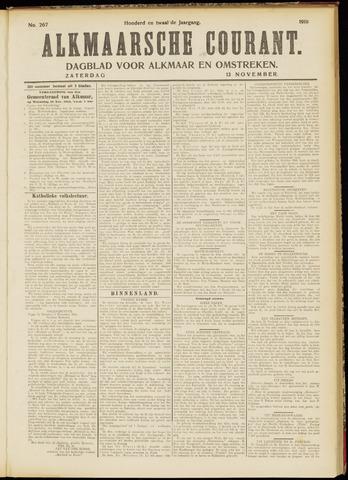 Alkmaarsche Courant 1910-11-12