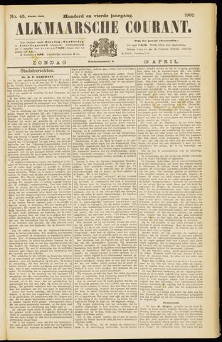 Alkmaarsche Courant 1902-04-13