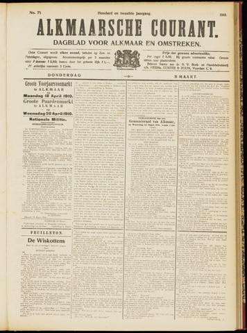Alkmaarsche Courant 1910-03-31