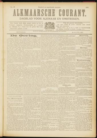 Alkmaarsche Courant 1917-01-16