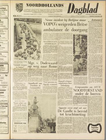 Noordhollands Dagblad : dagblad voor Alkmaar en omgeving 1962-10-08