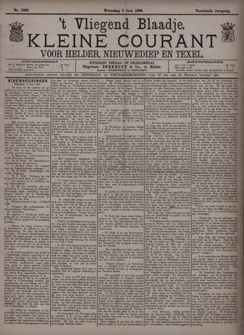 Vliegend blaadje : nieuws- en advertentiebode voor Den Helder 1886-06-09