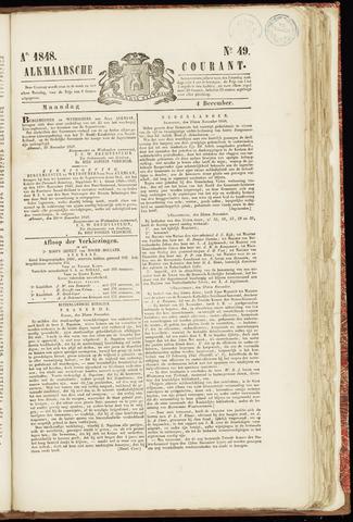 Alkmaarsche Courant 1848-12-04