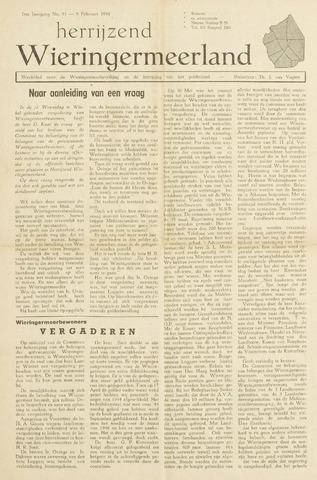 Herrijzend Wieringermeerland 1946-02-09