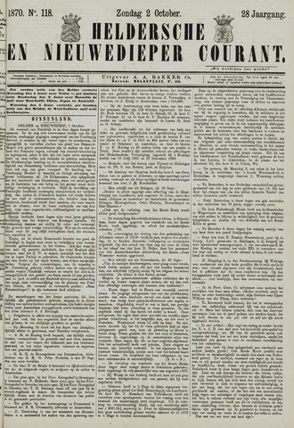 Heldersche en Nieuwedieper Courant 1870-10-02