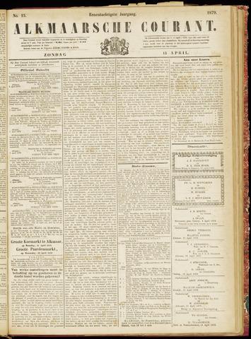 Alkmaarsche Courant 1879-04-13
