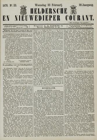 Heldersche en Nieuwedieper Courant 1870-02-23