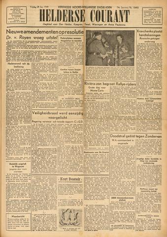 Heldersche Courant 1949-01-28