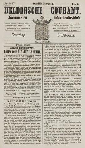 Heldersche Courant 1872-02-03