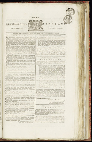 Alkmaarsche Courant 1828-02-18