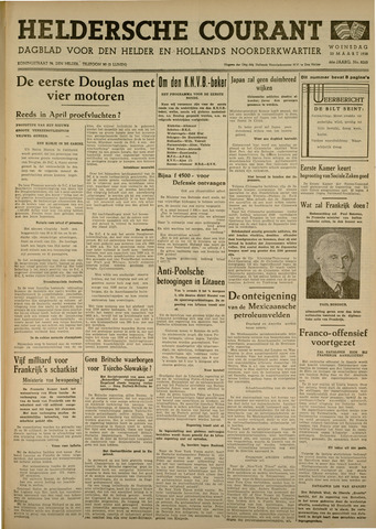 Heldersche Courant 1938-03-23