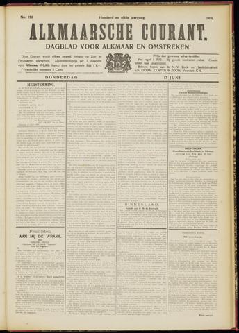 Alkmaarsche Courant 1909-06-17