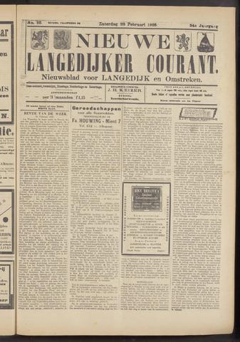 Nieuwe Langedijker Courant 1925-02-28