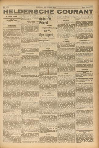 Heldersche Courant 1924-09-09