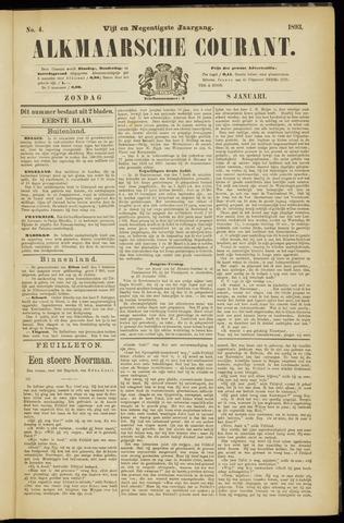 Alkmaarsche Courant 1893-01-08
