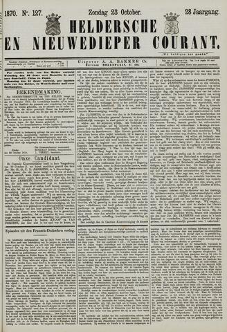 Heldersche en Nieuwedieper Courant 1870-10-23