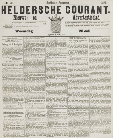 Heldersche Courant 1876-07-26