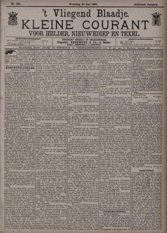 Vliegend blaadje : nieuws- en advertentiebode voor Den Helder 1890-06-25