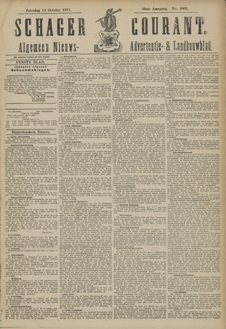 Schager Courant 1911-10-14