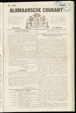 Alkmaarsche Courant 1854-10-30