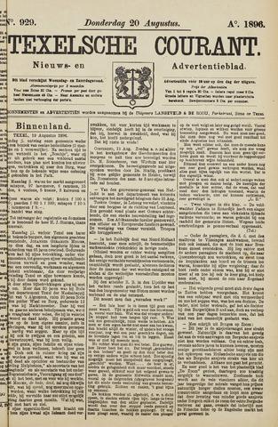 Texelsche Courant 1896-08-20