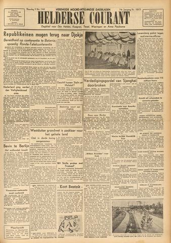 Heldersche Courant 1949-05-09