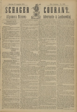Schager Courant 1911-08-12