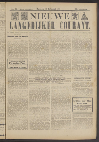 Nieuwe Langedijker Courant 1921-02-12