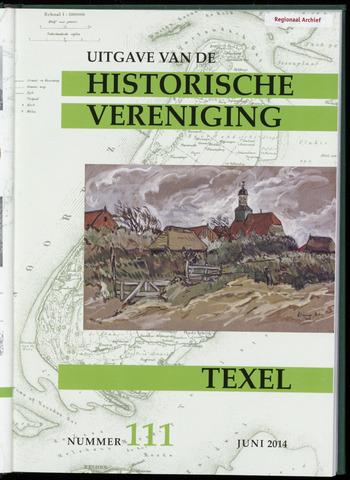 Uitgave Historische Vereniging Texel 2014-06-01